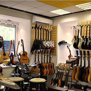 Музыкальные магазины Белой